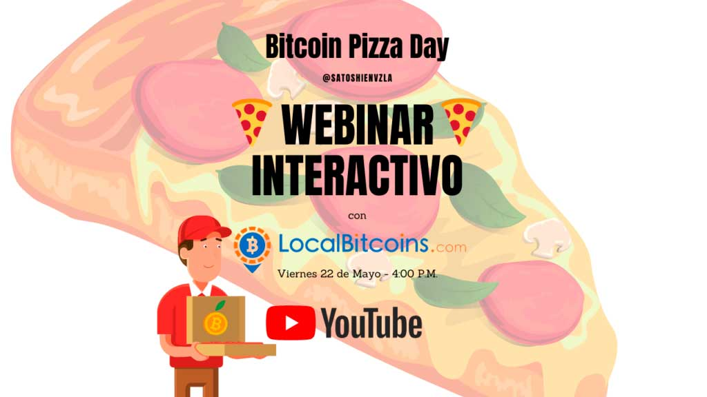 Satoshi en Venezuela invita a su webinar interactivo con representantes de LocalBitcoins