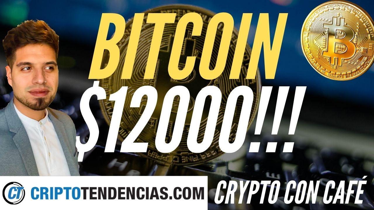bitcoin 12k $12000 crypto con cafe
