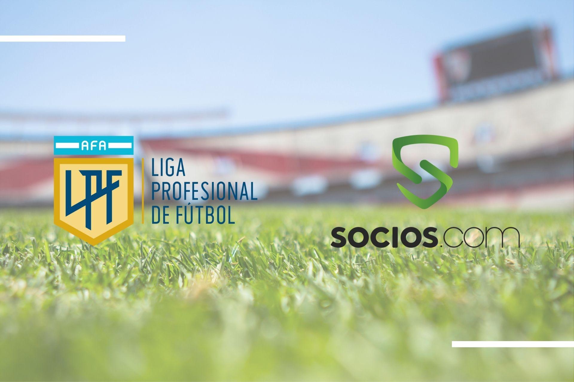 AFA y Chiliz, la liga de fútbol profesional argentina pasará a llamarse Torneo Socioscom, ampliando así la exposición de la plataforma de tokens para fanáticos