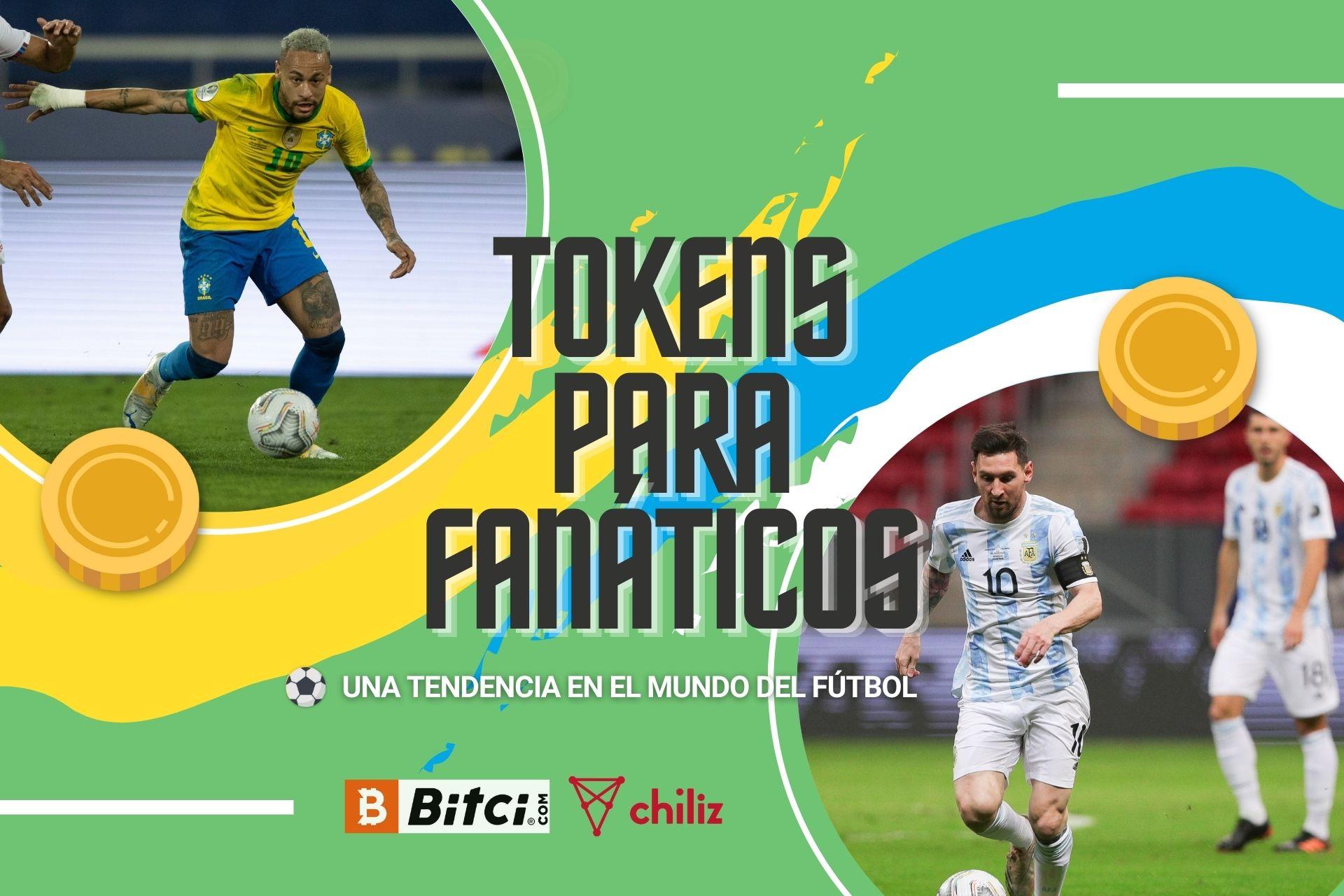 Brasil y Argentina protagonizan una final de Copa América entre dos históricas selecciones de fútbol que apuestan por los tokens para fanáticos