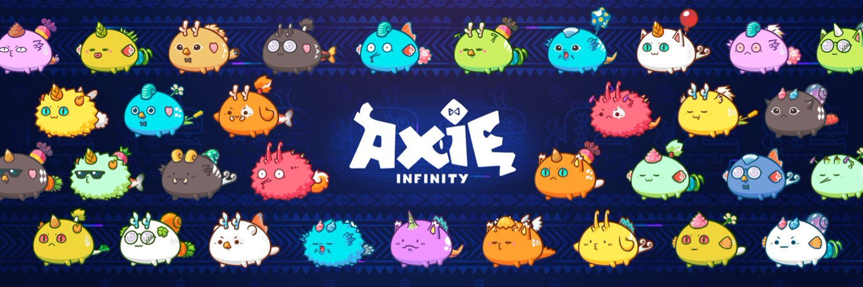 Imagen con diversos Axies. Fuente: Axie Infinity.