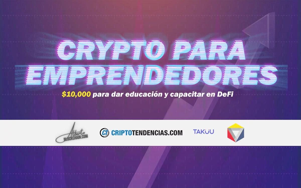 Crypto para emprendedores: Un programa educativo que le paga a sus estudiantes por aprender DeFi