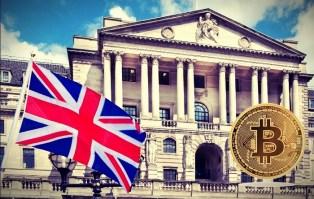 Banco de Inglaterra Bitcoin