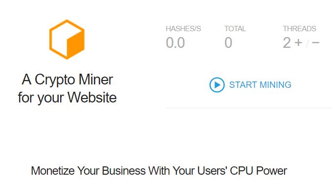 Coin-Hive: il Miner di Monero che minaccia la CPU