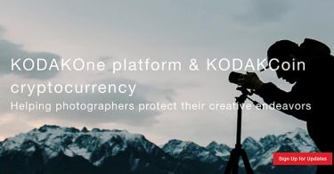 ICO Blockchain Kodak KODAKOne ha come obiettivo 50 milioni di dollari