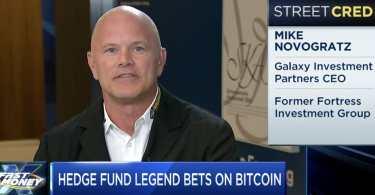 Mike Novogratz Il Bitcoin è un contenitore di Valuta