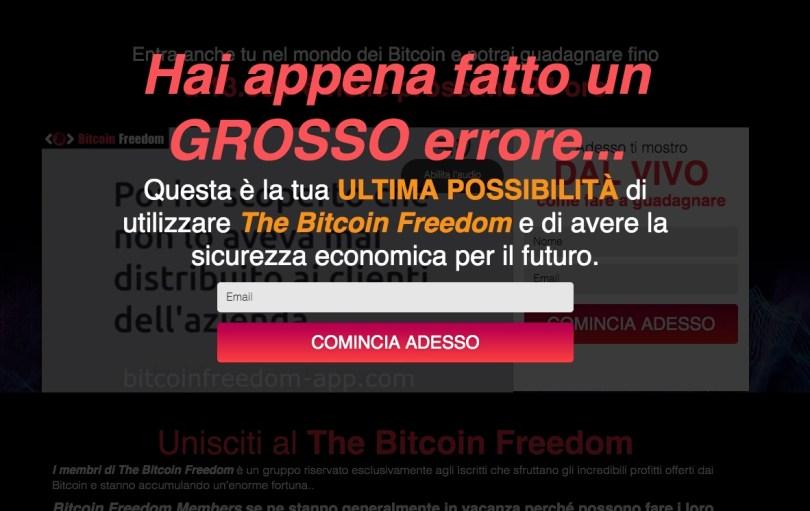 Bitcoin Freedom Opinioni e Recensioni
