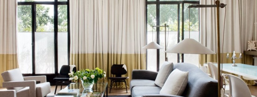 Arredare con i tessuti le tende giuste per la vostra casa crisaledesign - Tende per arredare casa ...