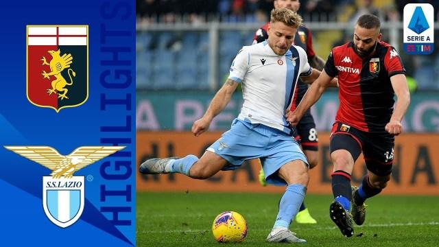 La Lazio vince a Genova contro i rossoblu e tiene il passo dei bianconeri