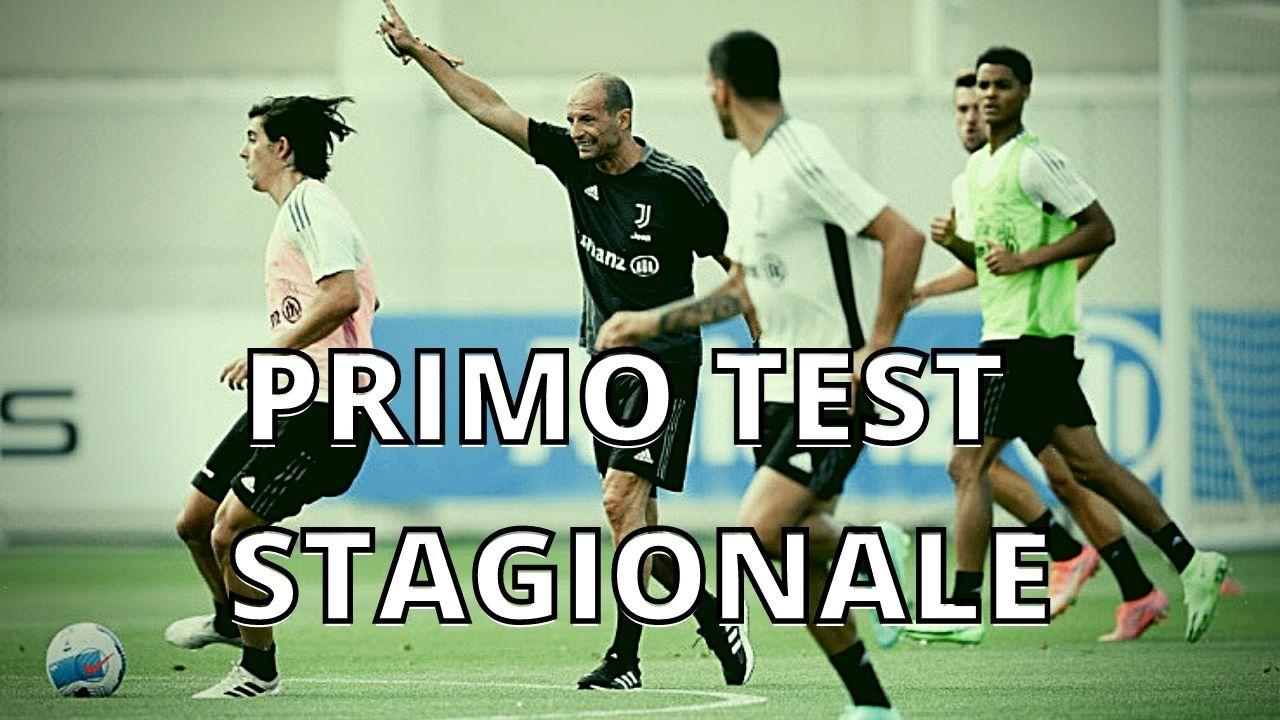 Juventus amichevole con il Cesena. Primo test stagionale.