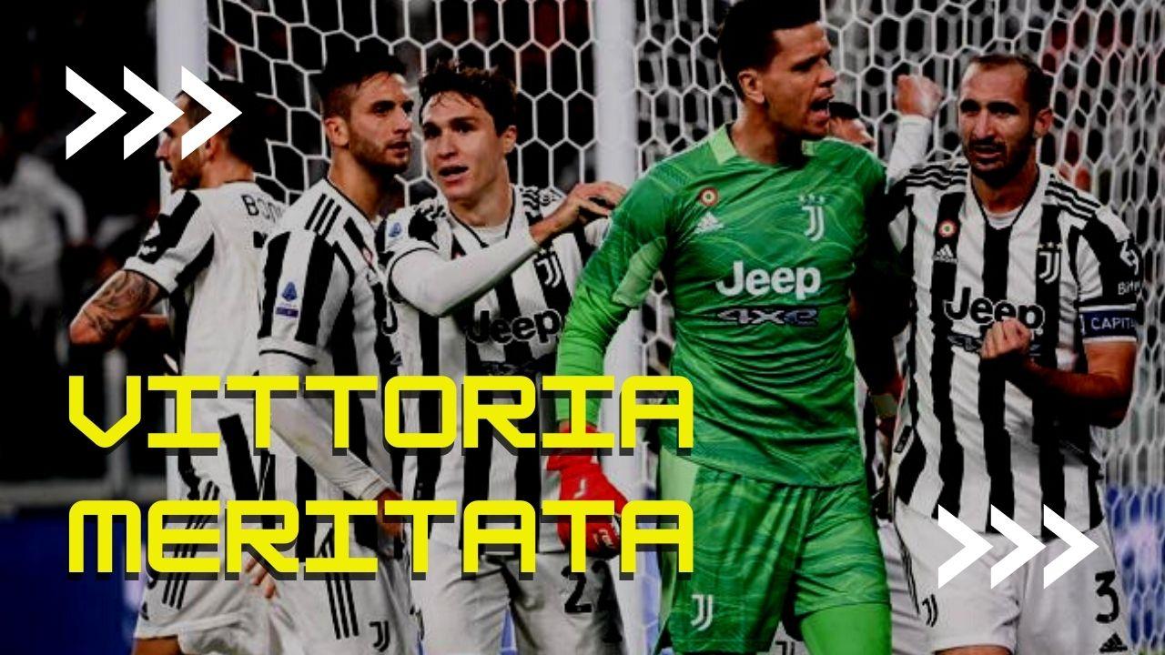 La Juventus ha meritato la vittoria. Diciamolo.