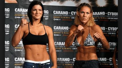 Cris Cyborg Vs. Gina Carano Rematch announced for UFC 226 - Cirs Cyborg Official Online Store