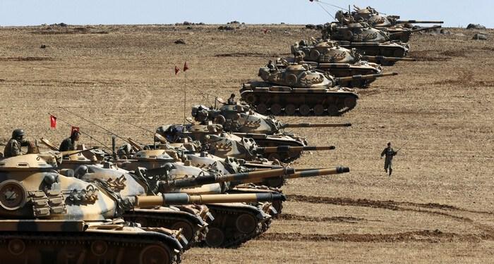 Ξεκίνησε η τουρκική εισβολή στη Συρία 22