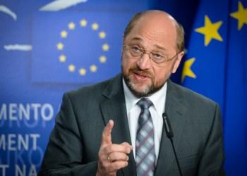 Martin SCHULZ EP President, press point on Cyprus