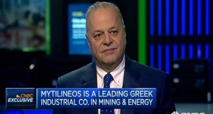 Ο Ευάγγελος Μυτιληναίος, CEO της Mytilineos