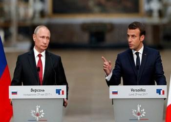 Συνάντηση Πούτιν-Μακρόν πριν τον τελικό του Μουντιάλ και τη σύνοδο με Τραμπ 27