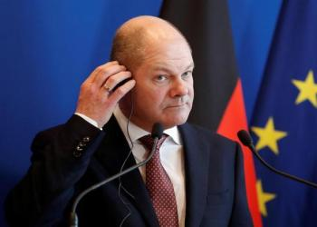 German Finance Minister and Vice Chancellor Olaf Scholz attends a news conference following his meeting with French Finance Minister Bruno Le Maire in Paris, France March 16, 2018. REUTERS/Benoit Tessier