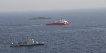 Ένταση στη Μεσόγειο: Το Barbaros απέπλευσε από την Τουρκία 1