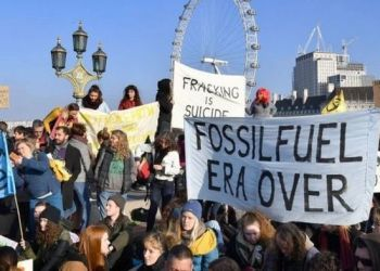 """Extinction Rebellion"": Στο Λονδίνο το προπύργιο της αντίστασης στην κλιματική αλλαγή 31"