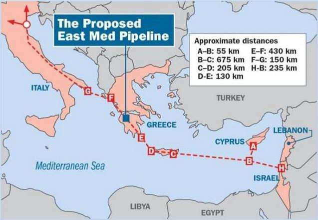 East Med: Γιατί δεν υπογράφει η Ιταλία; 23