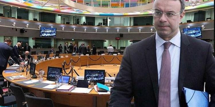 Ο Χρήστος Σταϊκούρας στο Eurogroup