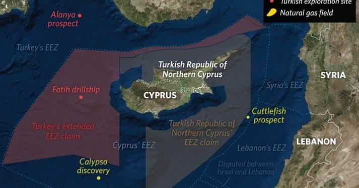 Βρώμικο παιχνίδι της Τουρκίας με Λιβύη, κατά Ελλάδας-Κύπρου... East Med 23