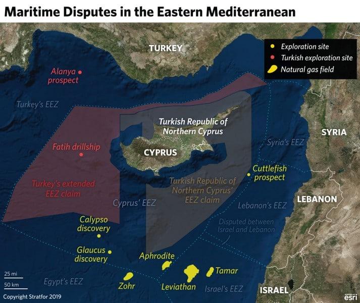 Βρώμικο παιχνίδι της Τουρκίας με Λιβύη, κατά Ελλάδας-Κύπρου... East Med 30