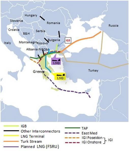 Ο οδικός χάρτης υλοποίησης IGB και FSRU 25