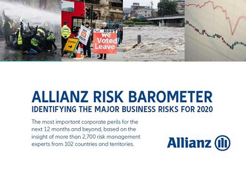 Allianz Risk Barometer: Οι κυβερνοεπιθέσεις αποτελούν τον μεγαλύτερο κίνδυνο για τις επιχειρήσεις 25