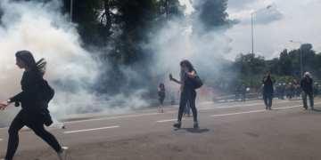 Μαλακάσα: Συμπλοκές κατοίκων με τα ΜΑΤ 1