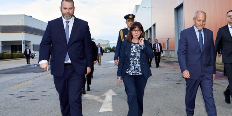 Επίσκεψη της Προέδρου της Δημοκρατίας στη μονάδα ανακύκλωσης μπαταριών της SUNLIGHT στην Κομοτηνή 23