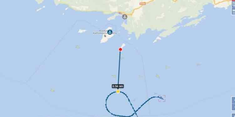 Πόσο κοντά έφτασε το Oruc Reis στο Καστελόριζο