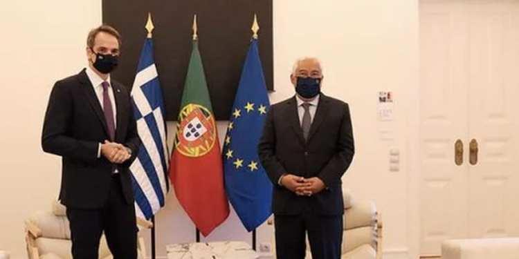 Κυριάκος Μητσοτάκης και Αντόνιο Κόστα