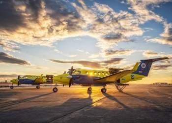Το ΙΣΝ παρέδωσε δύο αεροσκάφη στο ΕΚΑΒ