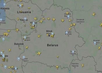 Ρωσοευρωπαϊκές αερομαχίες για τον ουρανό της Λευκορωσίας
