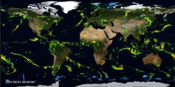 GPM: Εβδομαδιαία απεικόνιση IMERG παγκόσμιου υετού