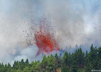 Ισπανία: Έκρηξη ηφαιστίου στη νήσο Λα Πάλμα