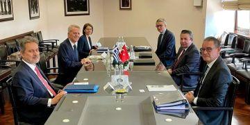 63ος γύρος διερευνητικών επαφών Ελλάδας - Τουρκίας στην Άγκυρα