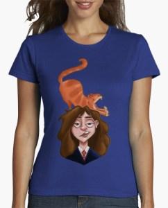 hermione&crookshanks