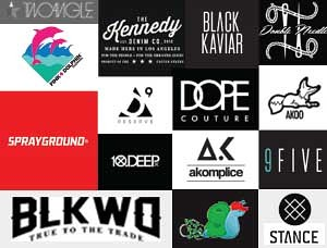 Exclusive Lifestyle and Streetwear Brands