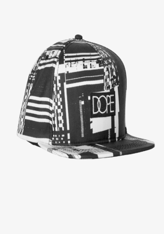 DOPE COUTURE Glitch Box Logo Snapback