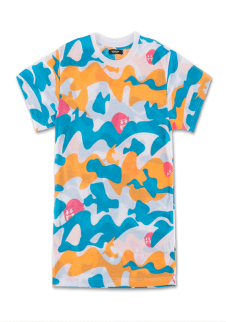 PINK DOLPHIN Ghost Camo Tee in White