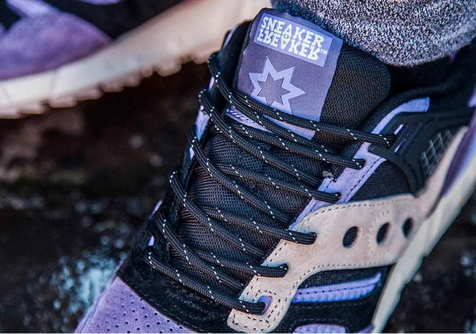 Saucony Grid 9000 Knit Pack Sneaker Freaker