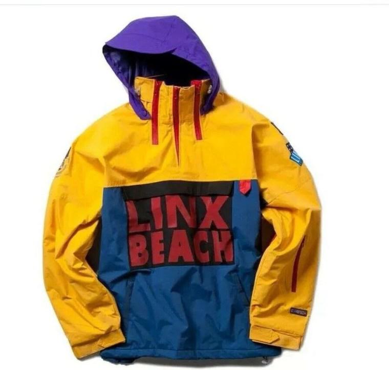 linx beach jackets