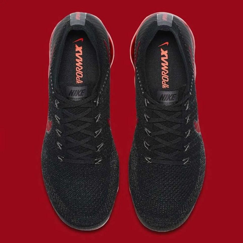 37b7138d565 Nike Air VaporMax  Black Dark Team Red  - Crisp Culture