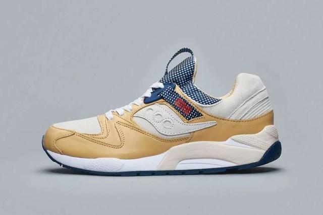 Sneakersnstuff x Saucony GRID 9000