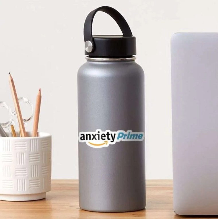 anxiety prime sticker