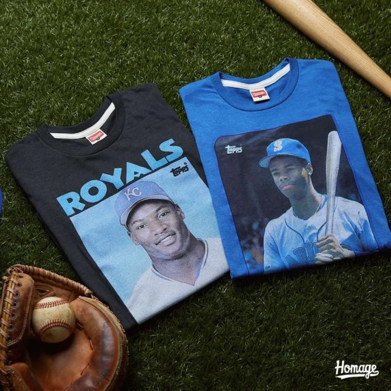 homage topps t-shirts