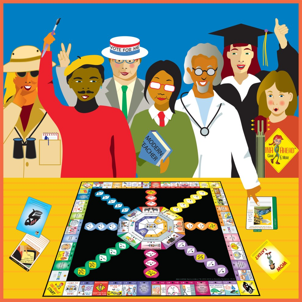 CRISPR Ahead™ A Board Game
