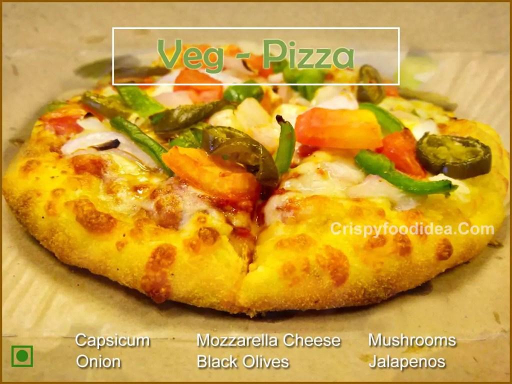 Cheesy Veg Pizza Recipe